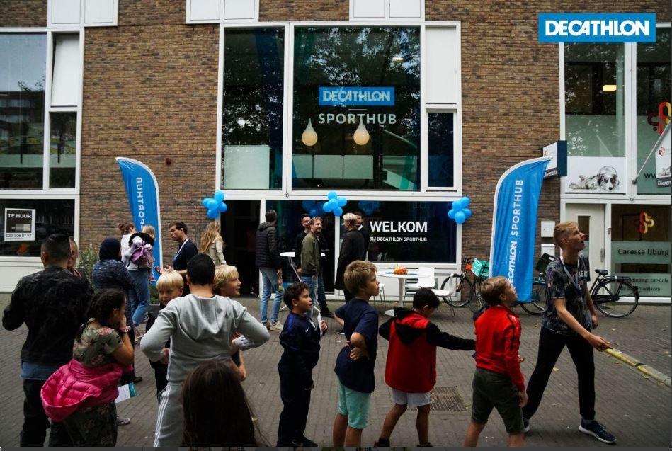 Decathlon dankt IJburg!