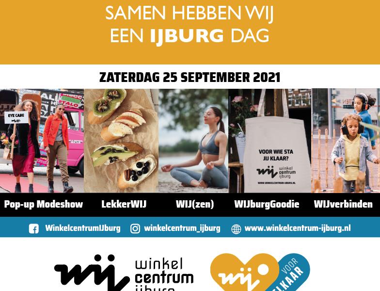 Vier IJburg op de WIJburg-Dag!